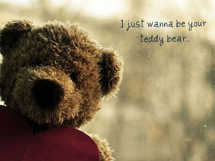 Love Quotes With Teddy Bear Images: 1000+ Teddy Bear Quotes On Pinterest