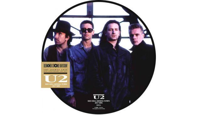 """NUEVO: U2 lanza una remezcla de """"Red Hill Mining Town"""" para el Record Store Day. Escuchá un fragmento aquí:"""