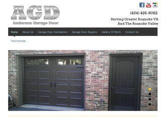 Garage door repair service Roanoke