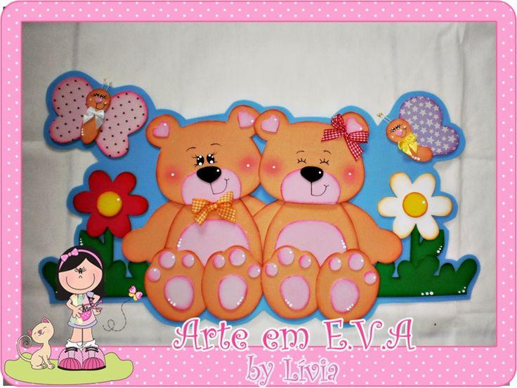 Imagen de osos en goma eva infantiles - Imagui