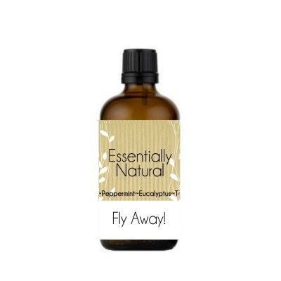 Fly Away! Natural Fly Repellent