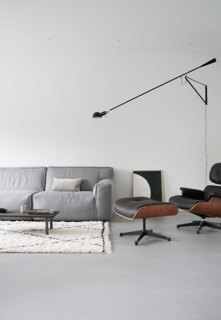 Flos 265 at home | April and May