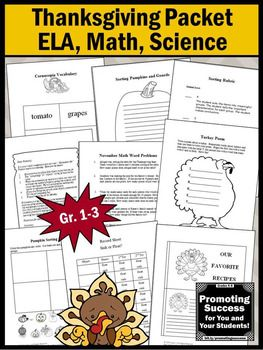 Three Little Pigs Sequencing Worksheet Word  Best Thanksgiving Activities For Kids Images On Pinterest  Rounding Decimals To Whole Numbers Worksheet Excel with Two Variable Inequalities Worksheet Thanksgiving Worksheets Packet Math Ela Literacy Writing  Science  Activities First Grade Math Worksheets Money Excel