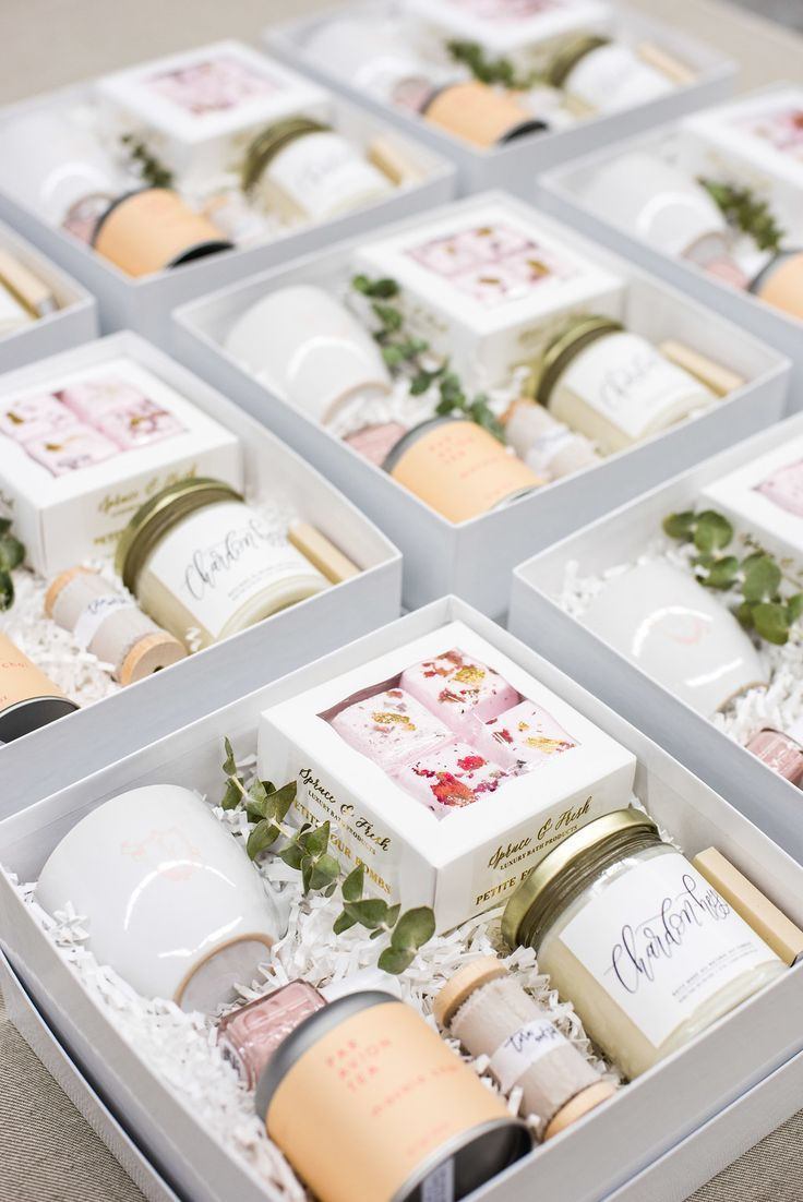 CUSTOM CLIENT GIFT BOXES Marigold & Grey creates artisan gifts for all occasions. Wedding welcome gifts. Workshop swag. Client gifts. Corporate event gifts. Bridesmaid gifts. Groomsmen Gifts. Holiday Gifts. Click to order online. Image: Lissa Ryan Photogr