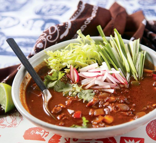 3 Swear-Worthy Recipes From the Thug Kitchen Cookbook | Women's Health Magazine Pozole Rojo Trying to decide between chili or soup?  F**k it, have both - and find harmony in hominy