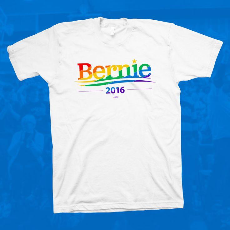 Bernie Sanders Pride T-Shirt – Bernie 2016 Store