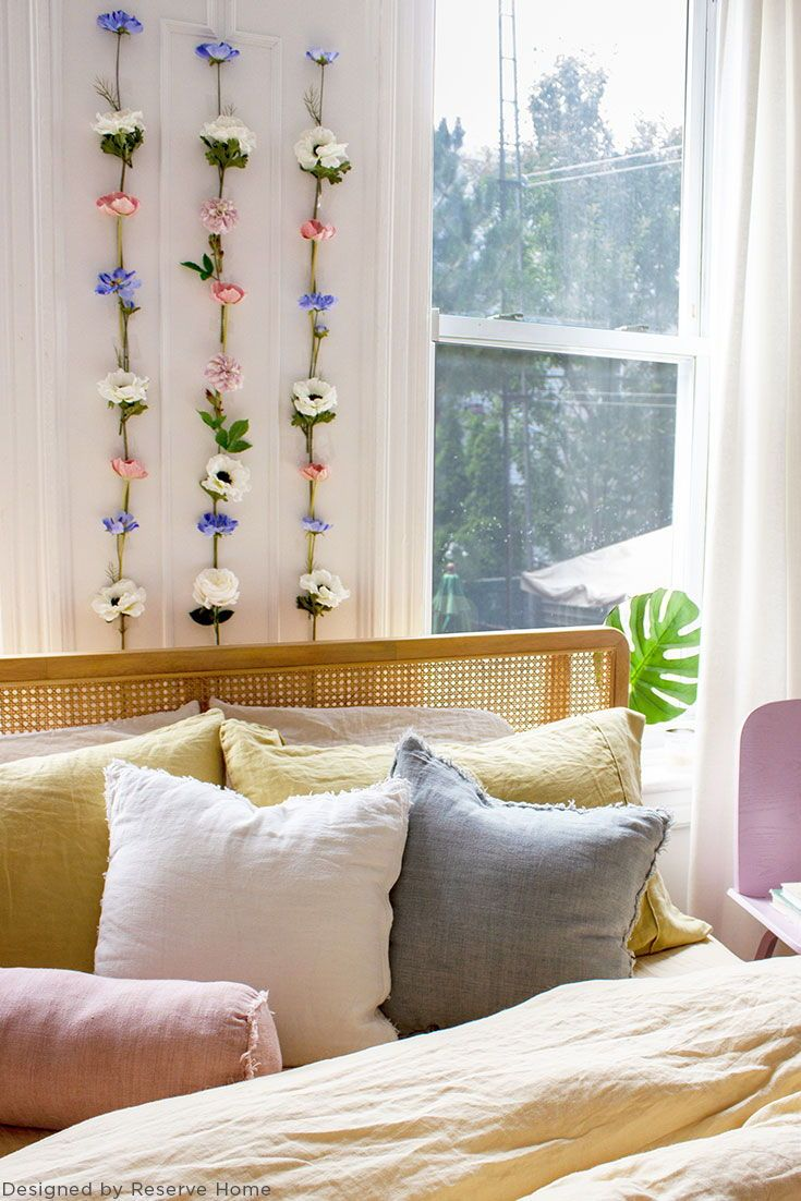 Diy Your Home Decor With Premium Silk Flowers Like This Boho