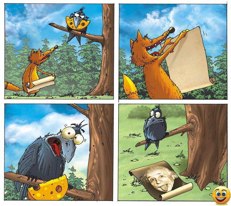 Лиса и Ворона Fox and Crow