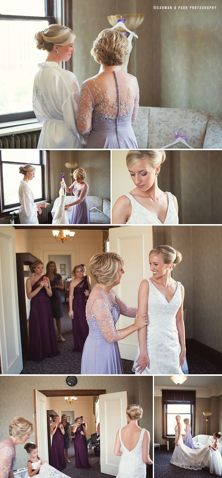 wedding picture locations akron ohio%0A Bride and bridesmaids getting ready at Greystone Hall in Akron Ohio   Images by www