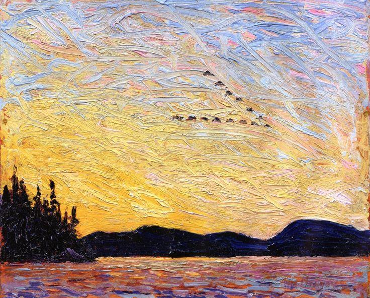 bofransson: Round Lake, Mud Bay Tom Thomson - 1915