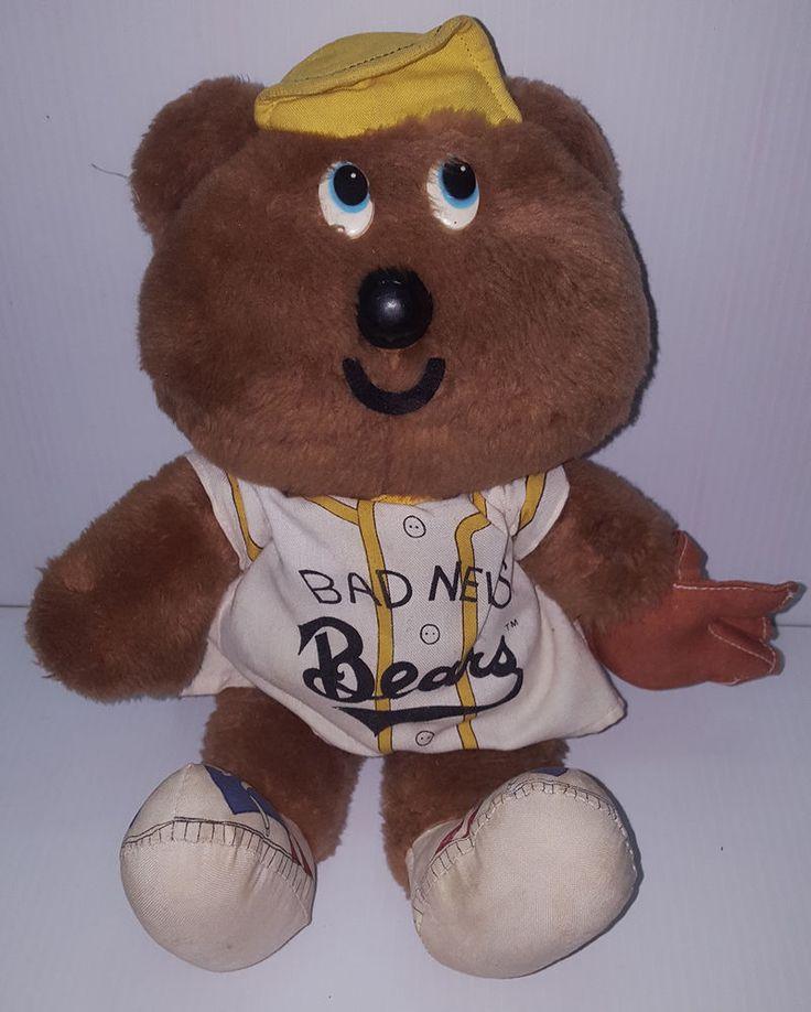 1976 The Bad News Bears Official Knickerbocker Plush Doll Walter Matthau  #TheBadNewsBears
