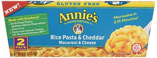 Annie's Gluten Free Macaroni and Cheese, Microwave Cups ...