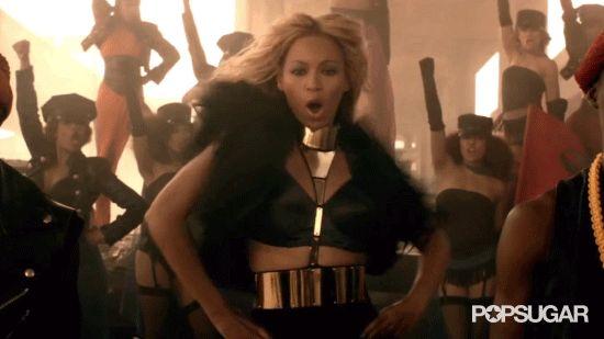 "Pin for Later: 21 Ways You Can Run the World as Beyoncé This Halloween ""Run the World"" Music Video Beyoncé"
