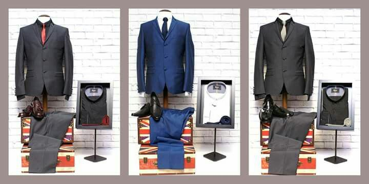 Stunning suit packages