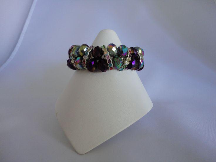 Purple Pure Elegance bracelet from set