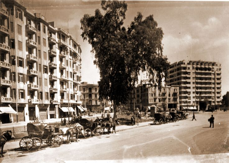 Tahrir Square, circa 1924