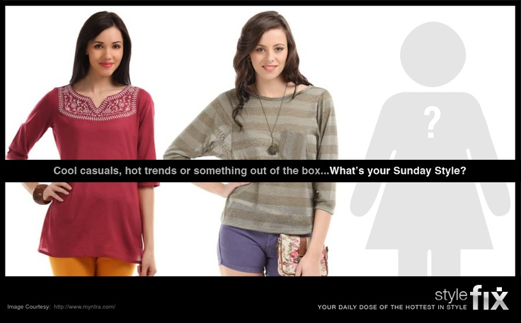 Sunday is the one day of the week when you can wear anything you want! So what's your favourite Sunday style outfit?