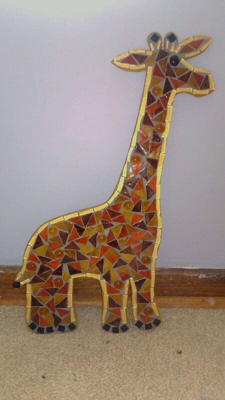 Giraffe. Really enjoyed making this one