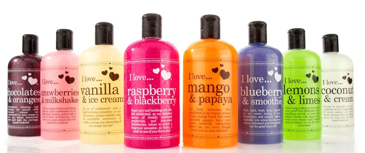 I love bubble bath shower gel products i love and