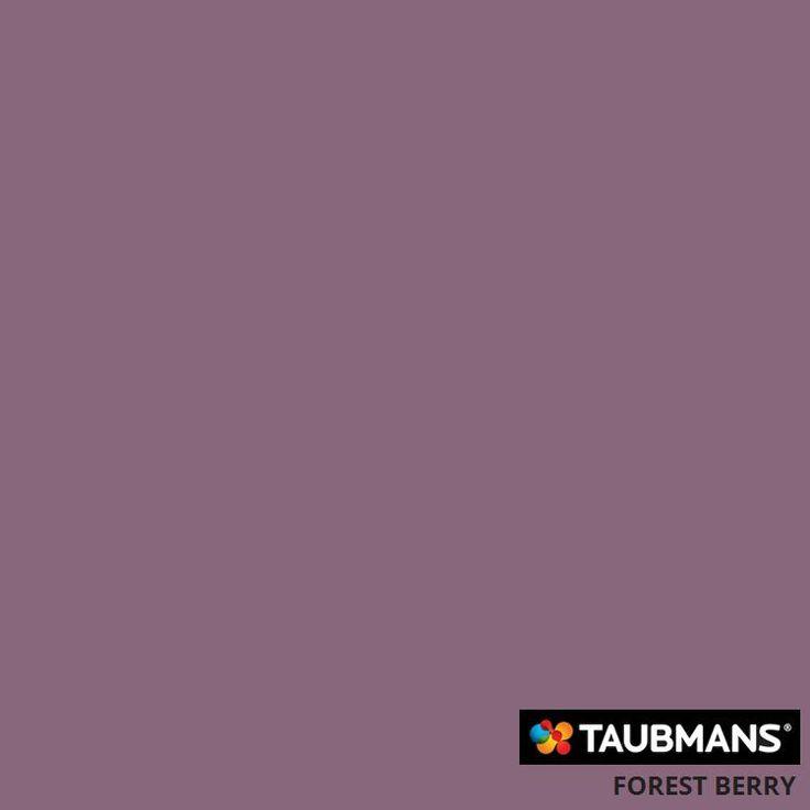 #Taubmanscolour #forestberry