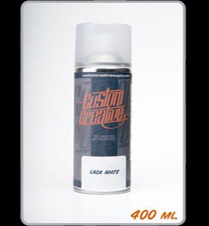 Barniz Acrilico Mate en spray de Custom Creative. Clear Acrylic Mate