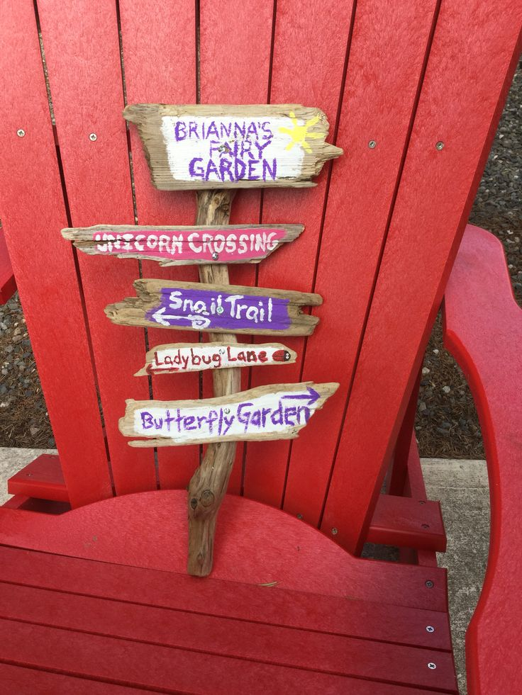 Made for our fairy garden - so simple & endless ways to personalize