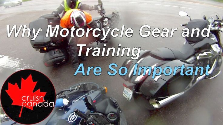 Why Motorcycle Gear and Training is so important.