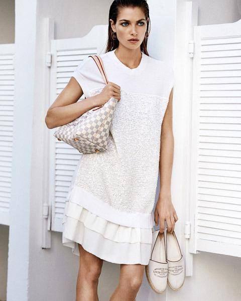 Íme, a LOUIS VUITTON legújabb lookbookjából egy csinos darab. #fashionfave #fashion #louisvuitton #lookbook #campaign #photoshoot #style #outfit
