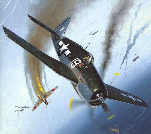 "Grumman F6F ""Hellcat"". Más en www.elgrancapitan.org/foro/"