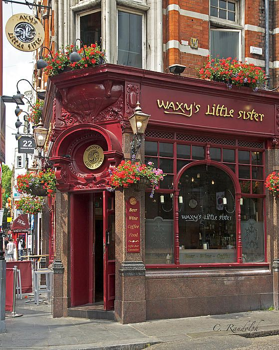 One of my favorite places in London! ~ TS Waxy's Little Sister Pub - London, England