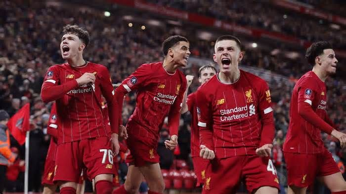 Liverpool S Kids Win On Own Goal Wayne Rooney To Face Man United In Fa Cup Get The Latest News For Manchesterunited Inside In 2020 Own Goal Man United Wayne Rooney