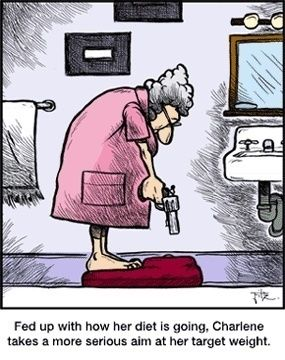 Wait! Don't shoot that scale yet! :-)