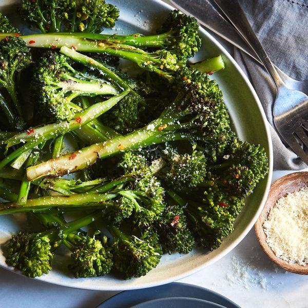 Roasted Baby Broccoli Recipe With Images Vegetarian Recipes