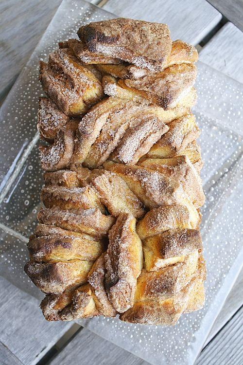 Suiker kaneel brood