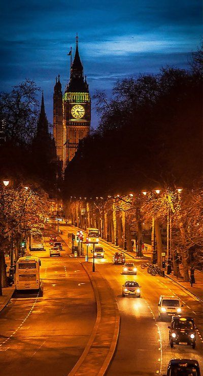 London By Night.. // by David Butali on Flickr