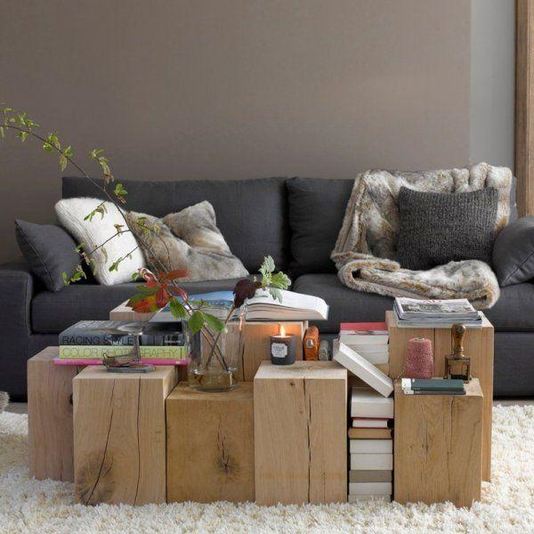 Du gris anthracite, intense et reposant , salon, déco de salon, living room