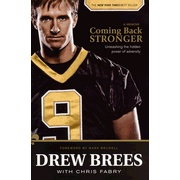 Just finished Drew Brees' book. Great read!
