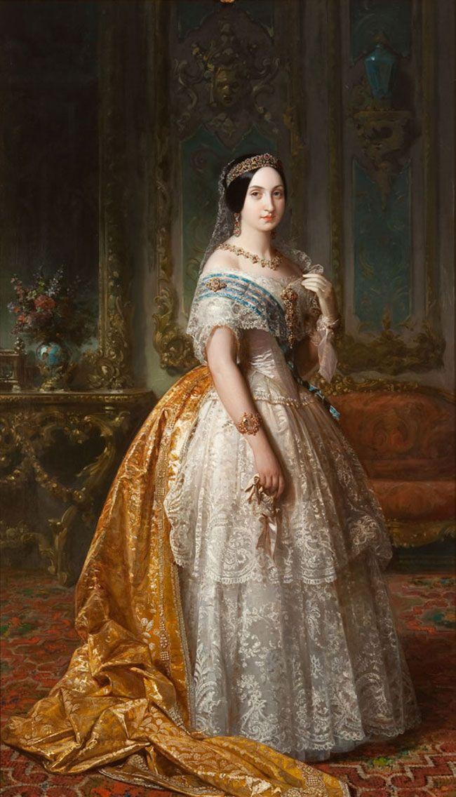 La infanta Luisa Fernanda de Borbón, duquesa de Montpensier
