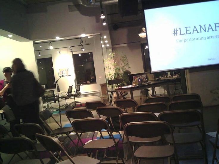 Timelapse of #leanarts event