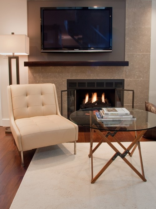 living room fireplace off centered 3 piece leather set best 25+ center ideas on pinterest ...