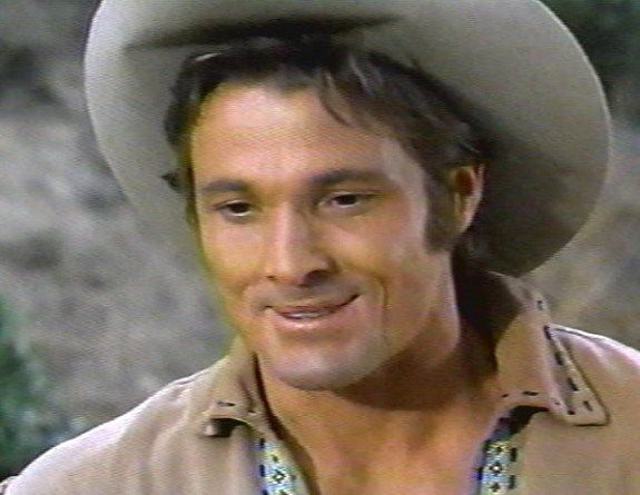 """william smith as """"Joe Riley"""" in Laredo:) Another one of my first crushes!  He was hot!"""