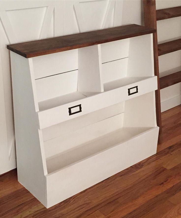 Soft White Kids Toy Chest Wood Box Bin Storage Organizer: 436 Best Images About Kids Bedroom Tutorials On Pinterest