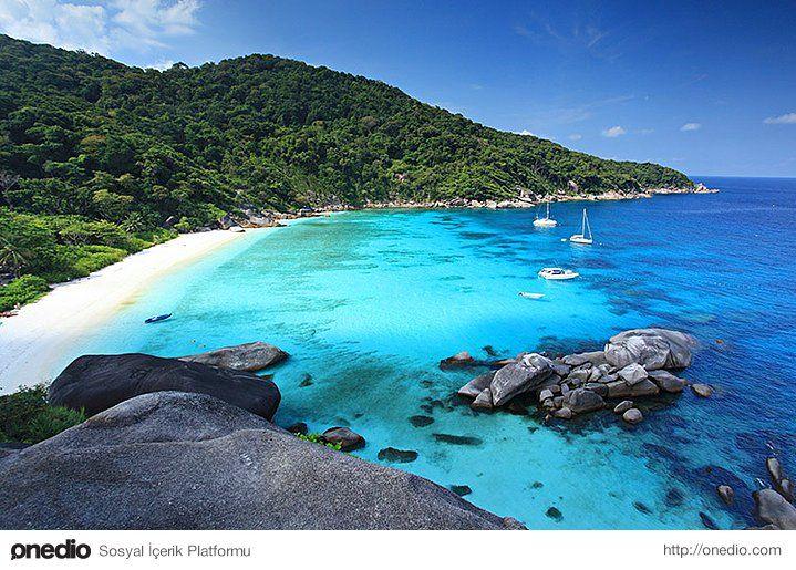 Macera ruhlular için Similan Adaları #ada #seyahat #tatil