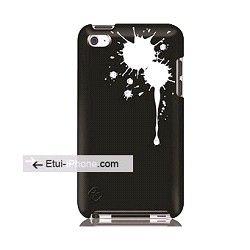 Coque iPod Touch 4 Swarovski noir sur http://www.etui-iphone.com rubrique étui ipod