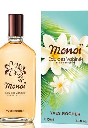 Eau des vahinés, parfum monoï, Yves Rocher - eau de toilette au monoi - Parfum d'été: produits au parfum d'été - ça sent les vacances