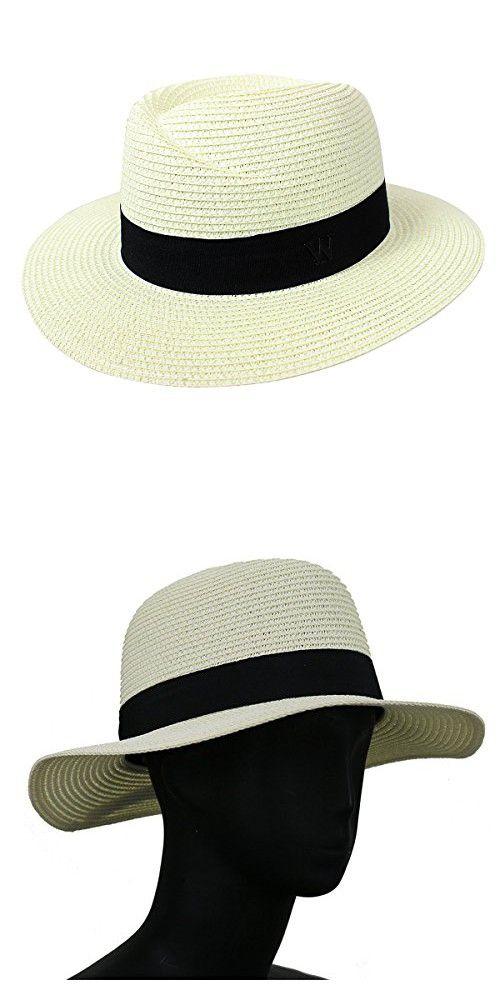 1434c30276a2ec Virginie Fedora Hat Designer Style Paper Straw Sun Hat, Beige in ...