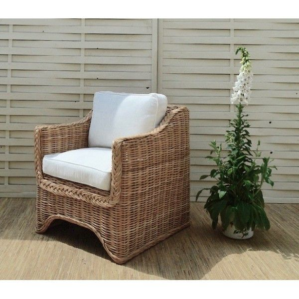 Armchair Scopelos Natural Rattan  Dimensions: 75x70x80