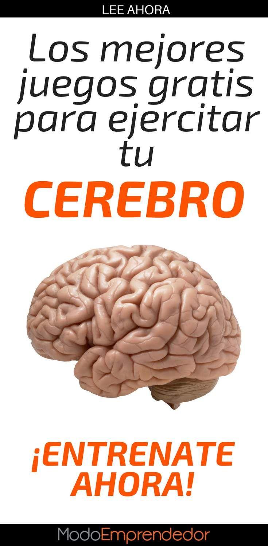 Los 3 Mejores Juegos Gratis Para Ejercitar El Cerebro El Cerebro Cerebro Ejercicios De Memoria