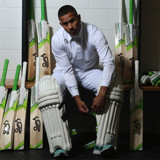 Pakistani born Australian cricketer Usman Khawaja made his debut for Australia at the 2011 Test in Sydney. Usman endorses the Kookaburra Kahuna Cricket Range