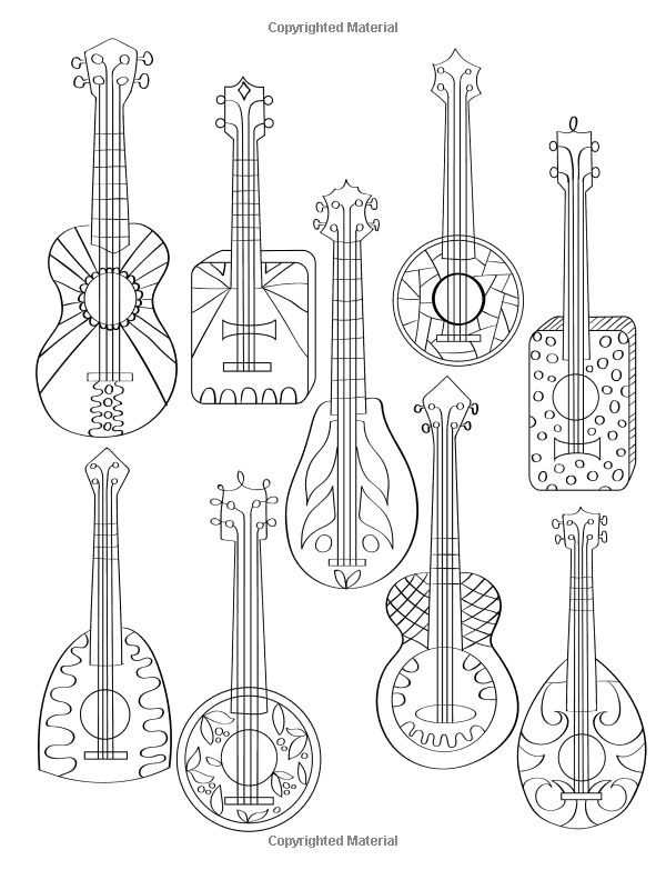 1000  images about music coloring pages for adults on pinterest